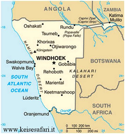 Caccia namibia Keisesafari
