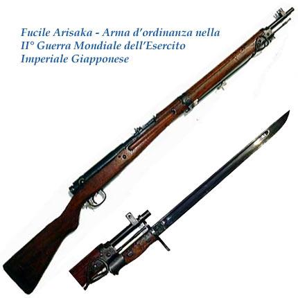 ARISAKA fucile dell´esercito giapponese
