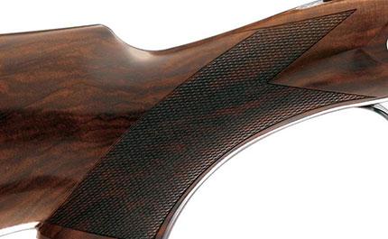 Calcio e asta del fucile da caccia lo zigrino for Costo della costruzione del fucile da caccia