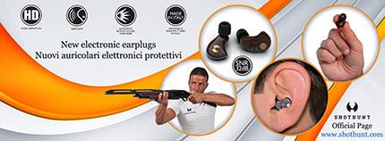 PROTEZIONE ORECCHIO CACCIATORI TIRATORI