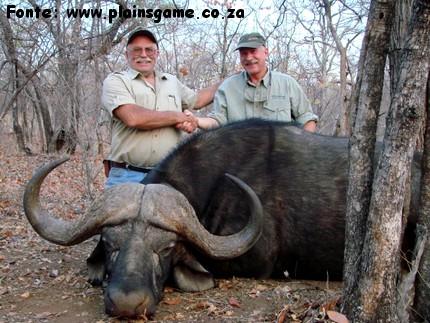 Caccia in Sud Africa