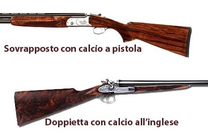 La scelta del calcio del fucile caccia tiro for Costo della costruzione del fucile da caccia