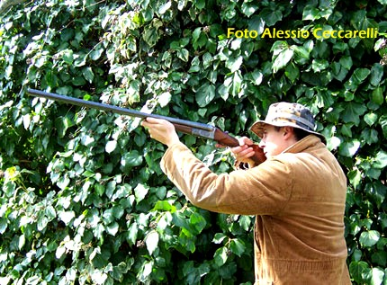 calcio fucile caccia e tiro