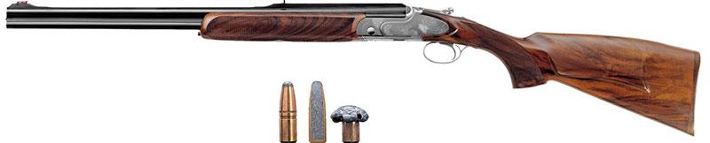 calibro 8x57 JRS armi basculanti ungulati