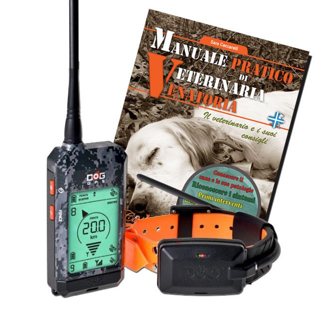 Dog trace X 20 satellitare per cani da caccia