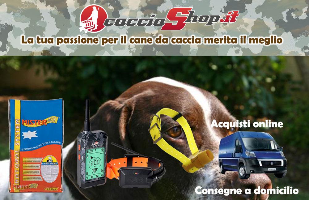 caccia shop cane di da caccia accessori satellitari