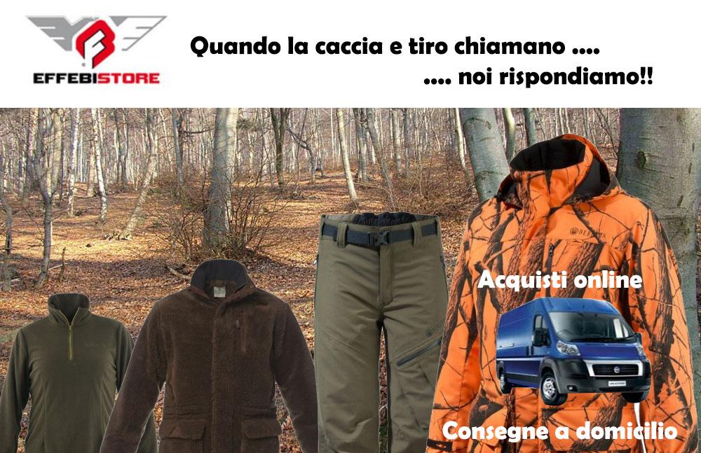 caccia abbigliamento accessori effebistore calci e aste