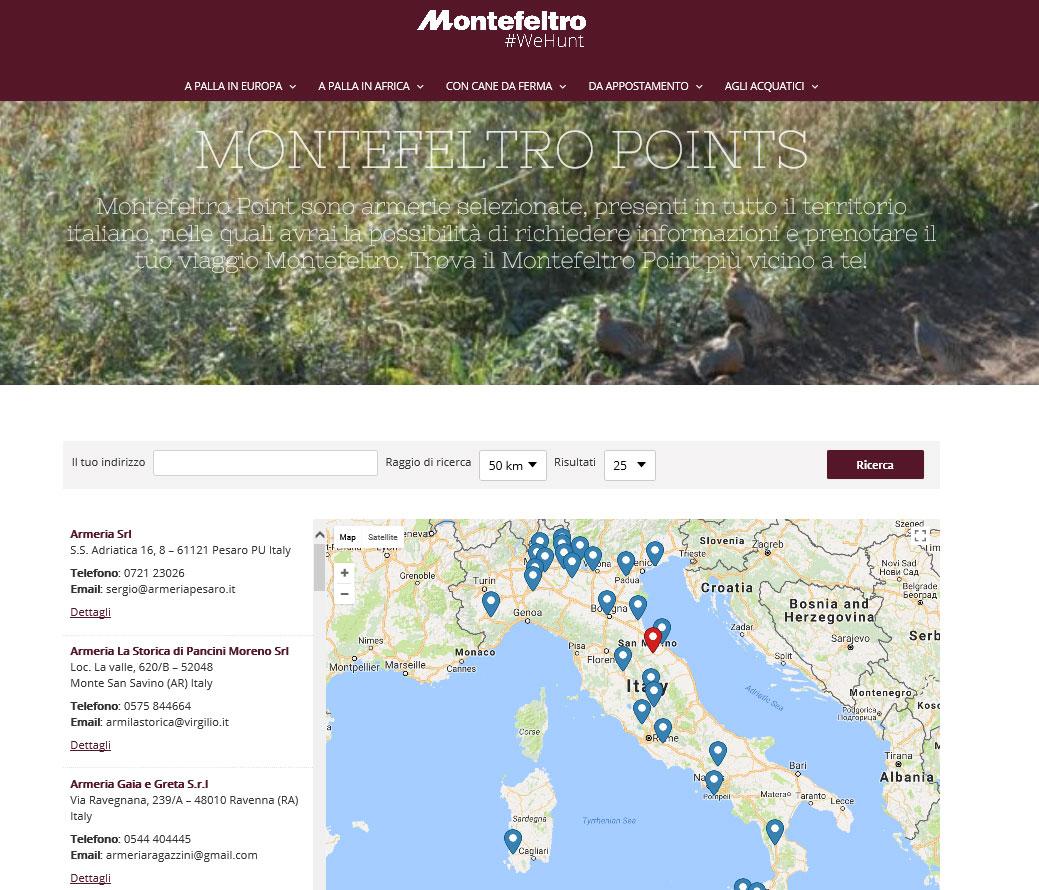 montefeltro viaggi di caccia sito internet cacciatori