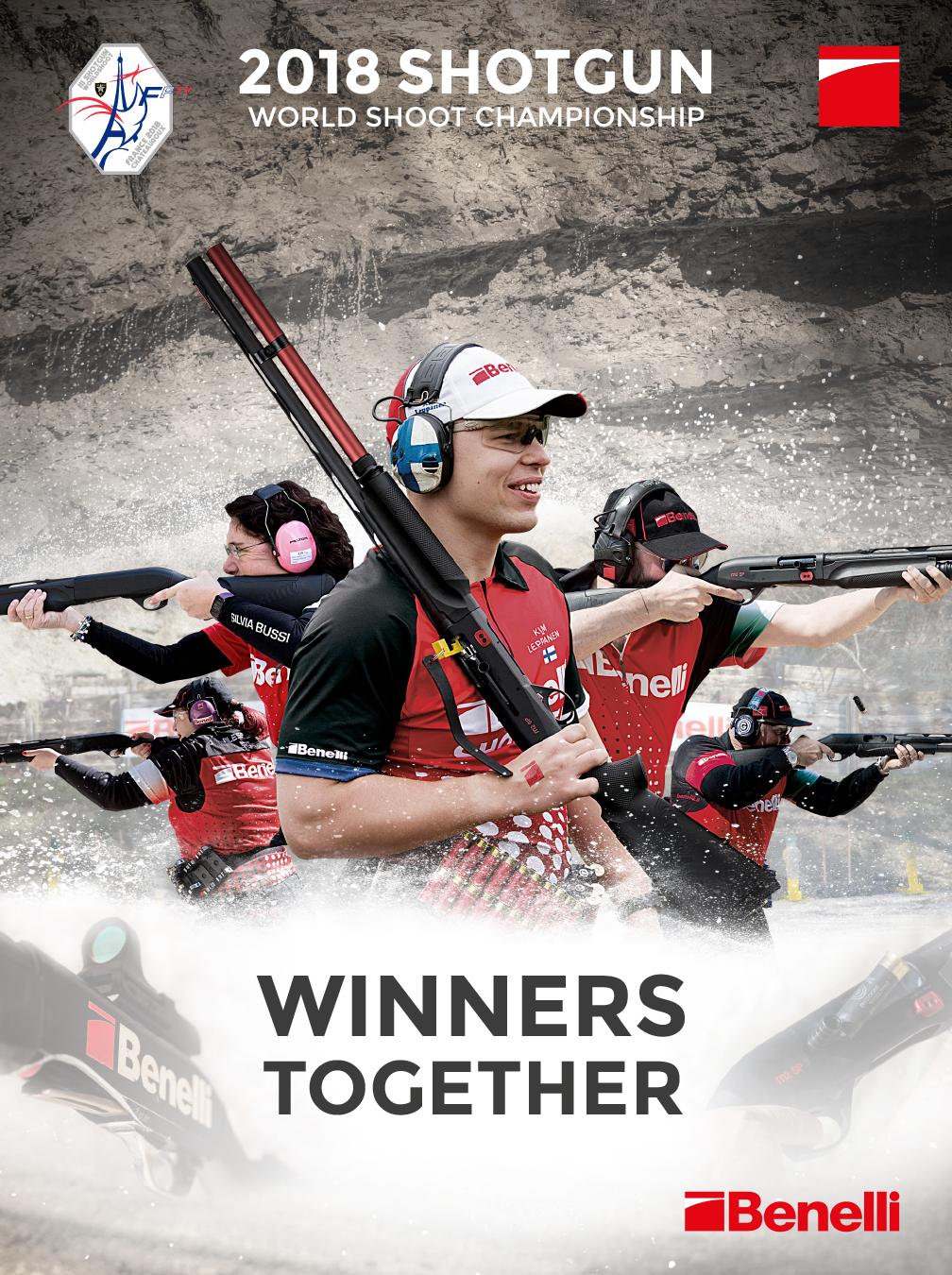 Benelli armi match sponsor mondiale I.P.S.C.