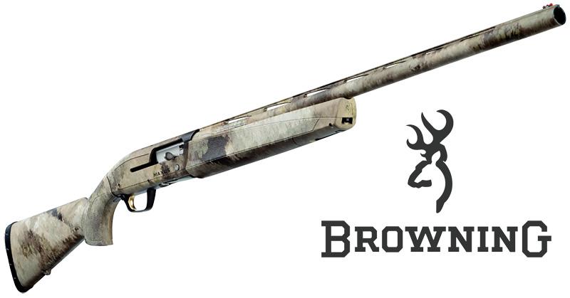 browning maxus a-tacs au semiautomatico caccia