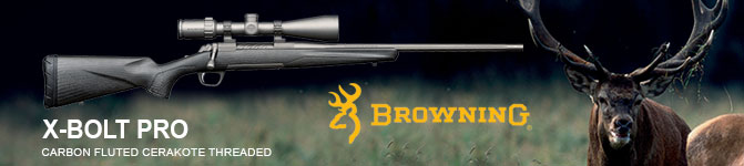 Carabina Brownig X-Bolt Pro Carbon Fluted