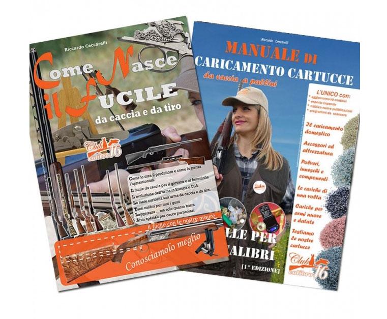 manuali libri caccia veterinaria fucili