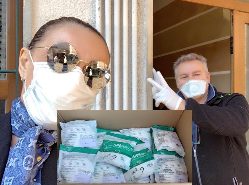 gardone piotti fuili da caccia mazzali mascherine ospedale e caserma
