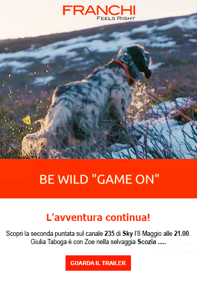 Be wild Franchi caccia in Scozia Giulia Taboga