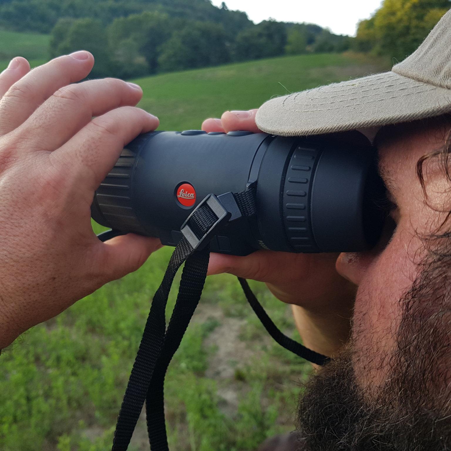 visore termico leica calonox caccia