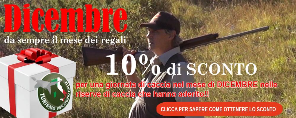 TURISMO VENATORIO SCONTO 10 %