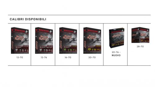 CARTUCCIA WINCHESTER SUPER SPEED G2